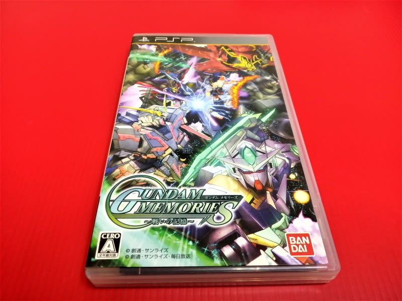 ㊣大和魂電玩㊣ PSP 機動戰士鋼彈回憶錄~歷戰回憶~{日版}編號:W1---掌上型懷舊遊戲