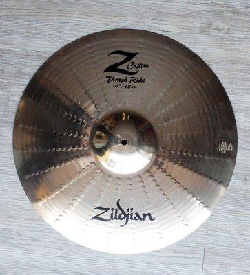 """*雅典樂器世界*極品 一片當2片 Zildjian Z Custom Thrash Ride 19"""" 銅鈸"""