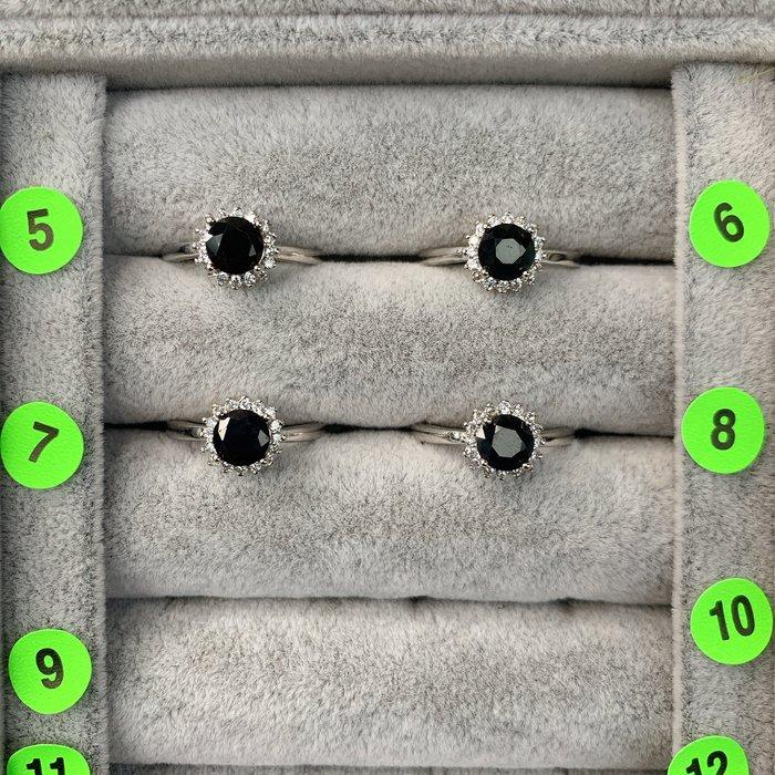 [滿藝精選] 精品水晶戒❤️天然藍寶石戒指 非鈦晶手排 紫鈦手排 晶洞