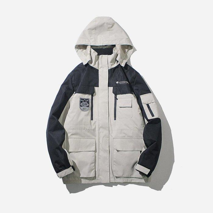 保暖風衣 airtex男士 衝鋒衣 女三合一兩件套可拆卸滑雪服秋冬季外套
