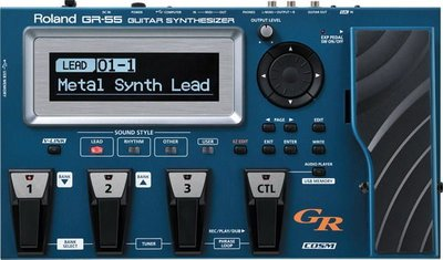 ☆ 唐尼樂器︵☆ Roland V-Guitar GR-55 Guitar Synthesizer 吉他合成器/效果器(附 GK-3 拾音器)