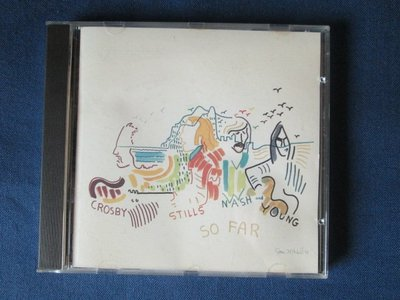 [非新品] Crosby,Stills,Nash and young-So Far-1974