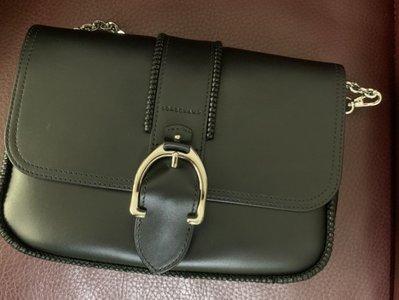 全配Longchamp Amazone  中號黑色鏈條包 側背包 肩背包 非帆布包 kendall jenner 代言款 台中市