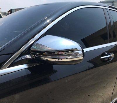 圓夢工廠 Benz 賓士 S W222 S300 S350 S400 2013~2020 改裝 鍍鉻 後視鏡蓋 後照鏡蓋