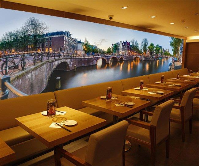 客製化壁貼 店面保障 編號F-281 阿姆斯特丹 壁紙 牆貼 牆紙 壁畫 星瑞 shing ruei