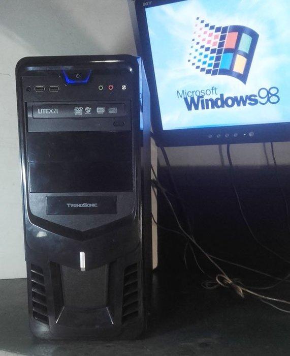 【窮人電腦】跑Windows 98系統!自組技嘉Win98工業主機出清!外縣可寄!