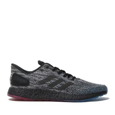 》P.S 》ADIDAS PureBOOST DPR LTD 男款 黑藍 編織 慢跑鞋 B37801