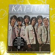 ~謎音&幻樂~ KAT-TUN  /  Real Face  通常盤  日本版  全新未拆封