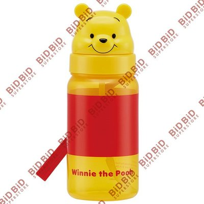 Winnie the Pooh 小熊維尼 維尼熊 水樽 飲管水樽 水壺 旅行水樽 運動水樽 350ml DISNEY