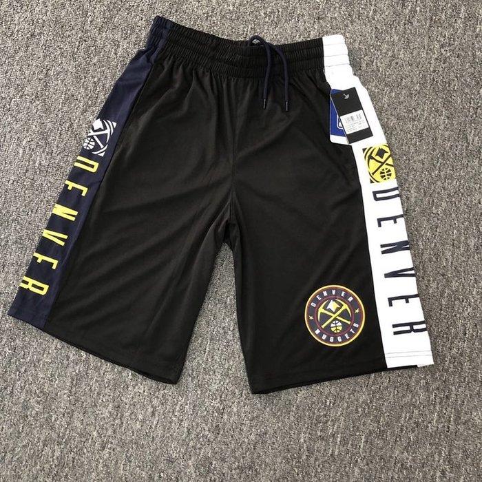 NBA籃球短褲 丹佛金塊隊 Nikola Jokić  口袋版 運動籃球褲 正版