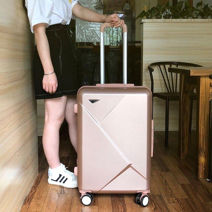 旅行拉桿箱 登機 新款行李箱24寸學生拉桿箱女韓版26大容量旅行箱男小清新密碼箱20