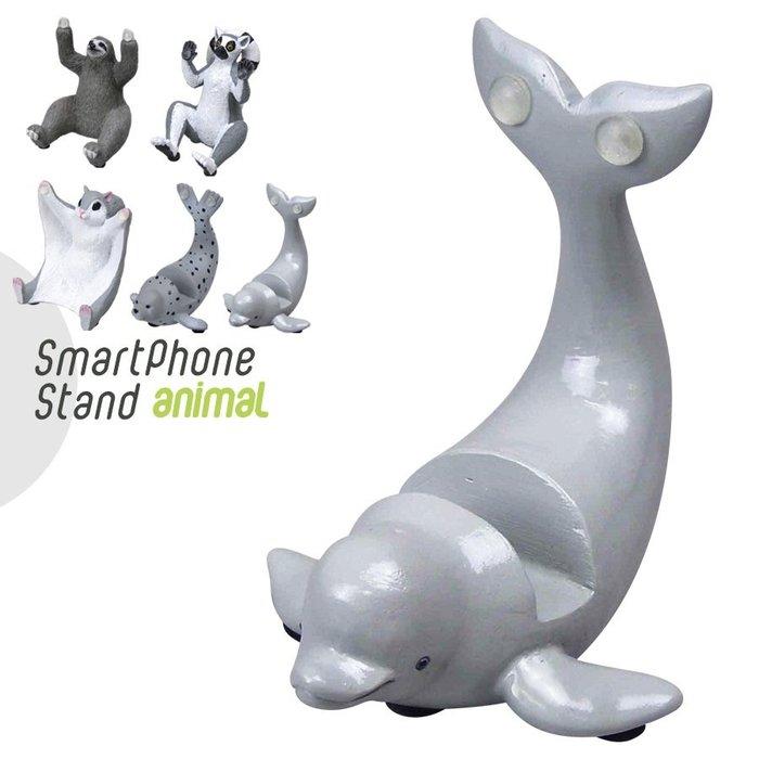【beibai不錯買】日系雜貨 zakka 日本進口 動物手機架 白鯨 (ANIMAL SMART PHONE STAN