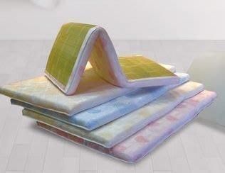 【南洋風休閒傢俱】床‧墊系列 - 3.5尺單人矽膠/竹面兩用床墊 和室床墊  學生床墊  折合床墊 YT 182