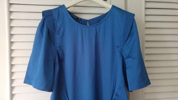 全新吊牌完整 Kookai 深海藍修身洋裝