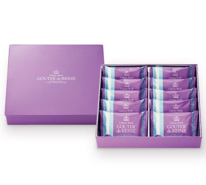 《FOS》日本 GATEAU 法國麵包 葡萄乾 脆餅 (10入) 禮盒 送禮 餅乾 零食 點心 下午茶 伴手禮 熱銷