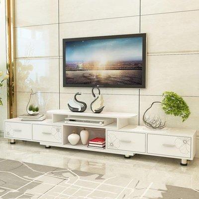 電視櫃簡約現代迷你組合套裝茶幾臥室電視機櫃小戶型客廳地櫃FA