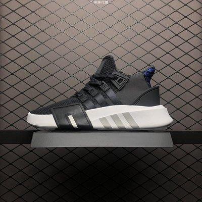 Adidas 愛迪達 EQT Back ADV 黑白藍 百搭 編織 休閒運動慢跑 CQ2994 男鞋
