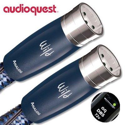 禾豐音響 公司貨 美國 Audioquest  Wild Blue Yonder XLR 線 2.0m