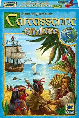 [熊熊森林]德國兒童桌上遊戲 Carcassonne Sudsee 卡卡頌南海風情South Seas桌遊玩具局戲教具