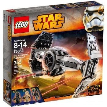 Lego Star Wars 75082 TIE Advanced Prototype™ 全新 壓盒