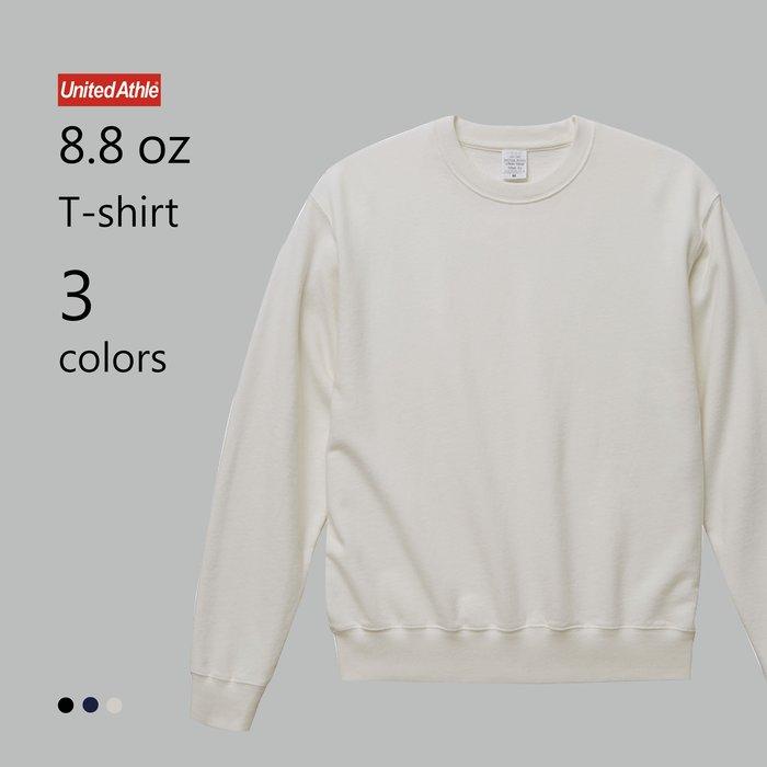 WaShiDa【UA5066】United Athle × 8.8磅 棉質 染色 圓領 長袖 運動衫 (預訂款十月上旬到