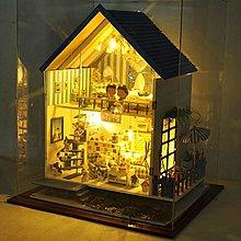 5Cgo【鴿樓】會員有優惠 15968205271 手工diy小屋浪漫愛琴海終極版房子 模型超大型別墅 情侶聖誕禮物