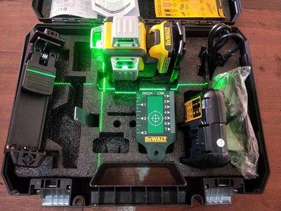 """""""工具醫院"""" 公司貨 美國 DEWALT 得偉 12V 充電式雷射儀 綠光雷射水平儀 可360度旋轉附強磁 DW089LG"""
