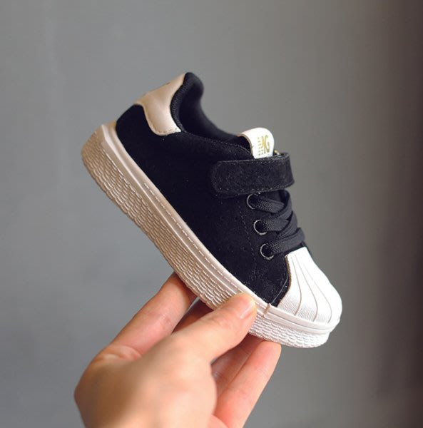 Audrey X Baby童裝 // 經典貝殼頭黏帶休閒鞋 布鞋 男童女童