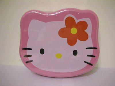 全新日本三麗鷗 SANRIO 花朵 HELLO KITTY 粉紅格層收納盒