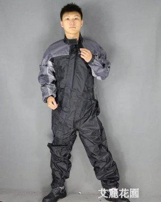 哆啦本鋪 品牌摩托車騎行服連身雨衣單人摩托車雨衣單人男騎行賽車D655