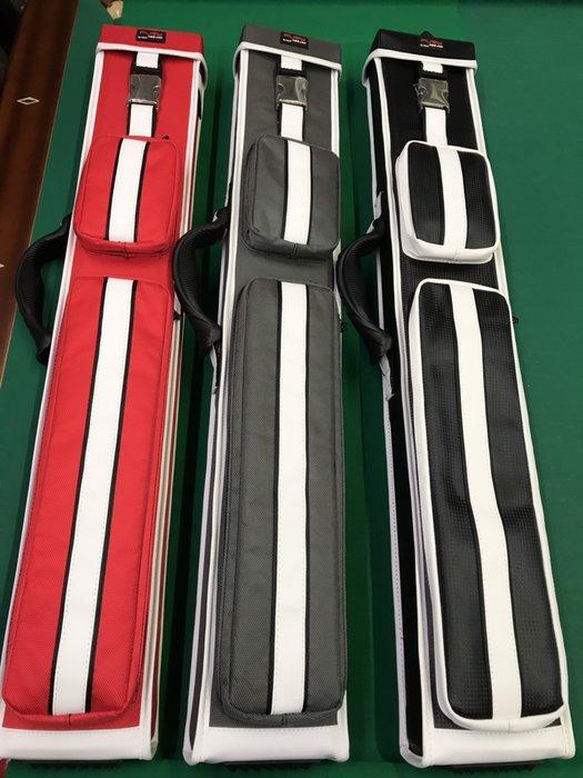 全新FURY八孔(8孔)翻蓋式球筒 尼龍布材質  (紅色 淺灰色 黑色) 球桿桶