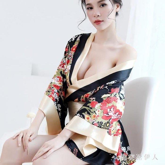 情趣內衣 性感激情夜火騷女制服透視裝三點式情趣用品 AW3454