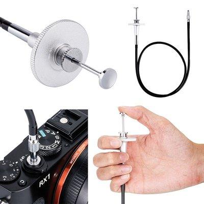 『e電匠倉』JJC 銀色 TCR系列機械快門線 適用於擁有螺紋快門按鈕的相機 sony M-8P M9-P M-A M