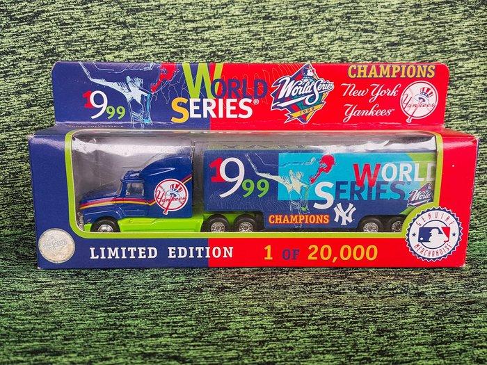 《金塊》MLB洋基 1999冠軍 CHAMPIONS 紀念車 限量 模型車 玩具大貨櫃車