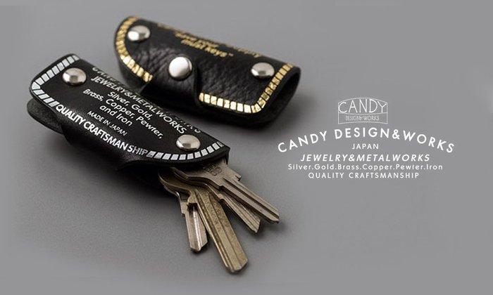 GOODFORIT / 日本飾品廠牌Candy Design復古車廠櫪木皮革鑰匙包/三色