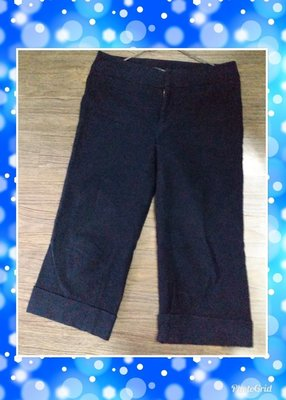 Nice Claup 日本製 深藍 絨吊腳褲 類似Frapbois ne net mercibeaucoup beams xgirl款式