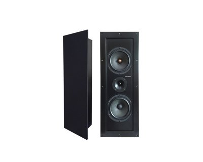 丹麥迪夫DIFF AUDIO~Z6方型崁入式~吸頂式6.5吋低音3音路無邊框喇叭~MW-650~IW-67~IW-87