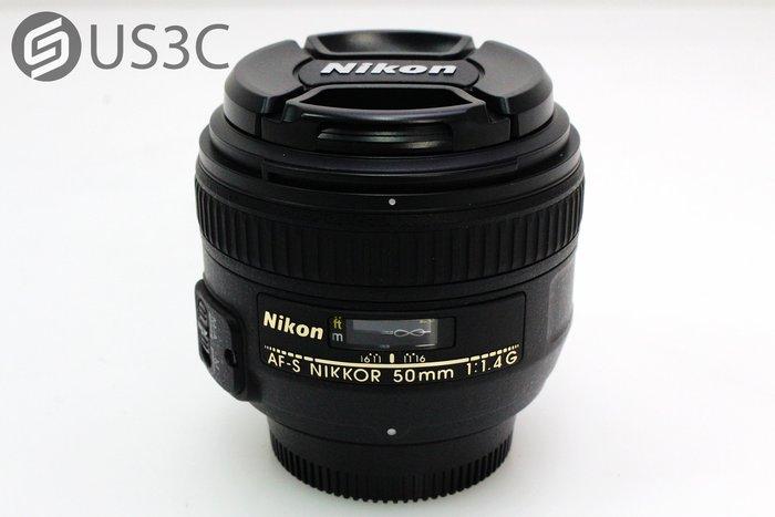 【US3C】尼康 Nikon AF-S NIKKOR 50mm F1.4 G 單眼鏡頭 定焦鏡 人像鏡 附原廠遮光罩