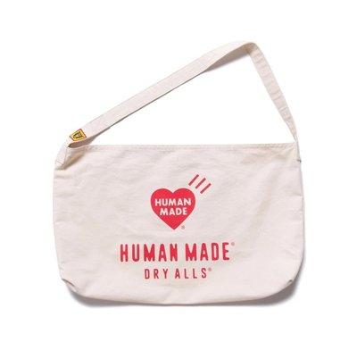 ☆AirRoom☆【現貨】2020SS HUMAN MADE PAPERBOY BAG 北極熊 愛心 側背包 小包