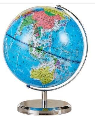 地球儀20cm高清地球儀學生用台燈中號  igo