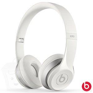 {藤井小舖}BEATS Solo 2 經典白 IOS系統 智慧型手機專用 B0518 頭戴式耳機 全新未拆