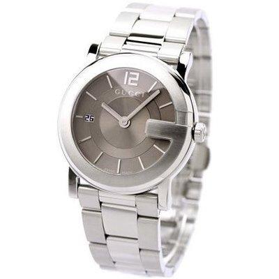 GUCCI 古馳 手錶 G-Round 義大利 大G錶殼 對錶 大尺寸 上班族 生日 禮物 情人節 YA101408