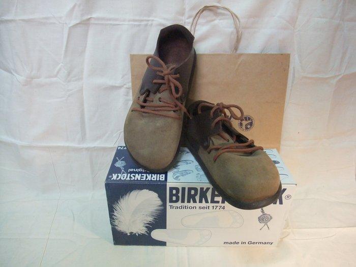 【Jia】出清-二手(近全新)真品 德國Birkenstock勃肯/柏肯/博肯 Montana 咖啡色 真皮包鞋 35