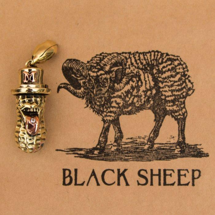黑羊選物 M字 新款花生人 鑰匙圈 精細復刻 手感扎實 原本尺寸 同Peanuts&co 附小花生 MADNESS聯名款