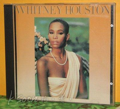 WHITNEY HOUSTON 同名專輯,1985年,日製虛字版,無IFPI,ARISTA唱片