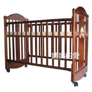 [ 家事達 ] Mother's Love--6388 噗噗熊四段調整嬰兒床 中床(不含成長側板) 特價