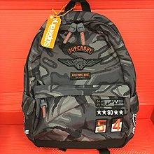 😍軍綠色迷彩😍Superdry Mono Camo Montana Backpack 背囊/背包