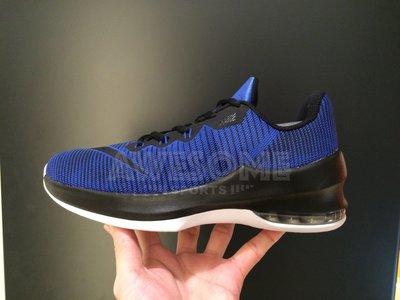 [歐鉉]NIKE AIR MAX INFURIATE II GS 藍黑 籃球鞋 女鞋 943810-400