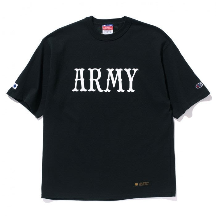 【QUEST】現貨 MADNESS x NEIGHBORHOOD CHAMPION ARMY TEE 黑色 余文樂