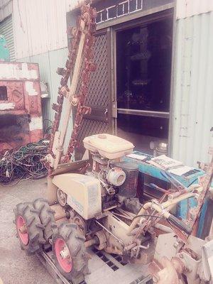 【缺貨中】擎揚機電 BARONESS 共榮社 TL-50AF 挖溝機 日本外匯 二手中古